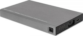 InLine RAID Enclosure for dual mSATA, USB-C 3.1 (00031B)