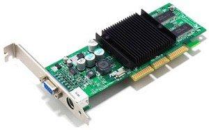 ASUS AGP-V9180 Magic, GeForce4 MX440-8X, 64MB DDR, TV-out, AGP
