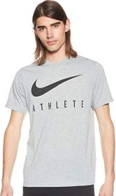 Nike Dri-FIT Shirt kurzarm dark grey heather/black (Herren) (BQ7539-063)