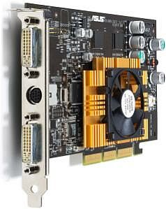 ASUS AGP-V9180 VS, GeForce4 MX440-8X, 64MB DDR, Dual DVI, TV-out, AGP