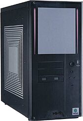Lian Li PC-6099 Midi-Tower aluminum black (without power supply)