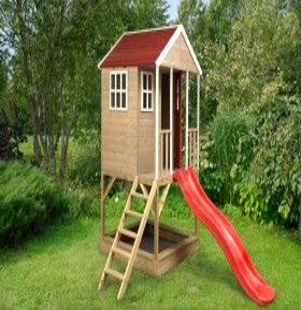 Wendi Toys Spielhaus Frosch mit Rutsche (WTM8)