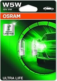 Osram Ultra Life W5W 5W, 2er-Pack Blister (2825ULT-02B)