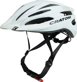 Cratoni Pacer Helm weiß matt (113003C2/113003C3)