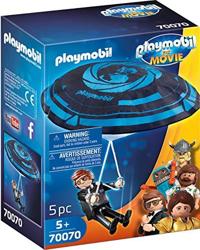 playmobil The Movie - Rex Dasher mit Fallschirm (70070)