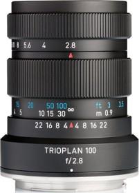 Meyer Optik Görlitz Trioplan 100mm 2.8 II für Nikon F (0000066-OBJ)