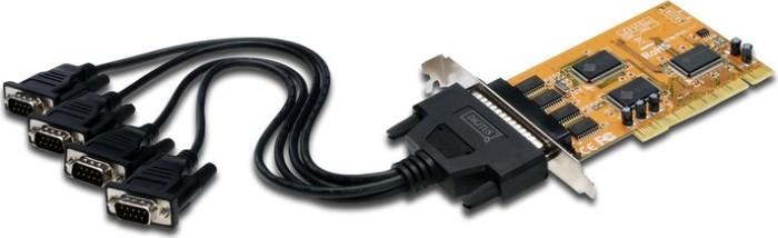 Digitus DS-33002, 4x seriell, PCI -- via Amazon Partnerprogramm