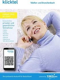 Buhl Data KlickTel Telefon- und Branchenbuch Frühjahr 2019 (deutsch) (PC)