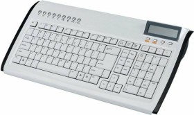 Zignum Slim Multimedia Keyboard weiß, USB (ZG-7350W)