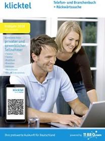 Buhl Data KlickTel Telefon- und Branchenbuch Frühjahr 2019 inkl. Rückwärtssuche (deutsch) (PC)