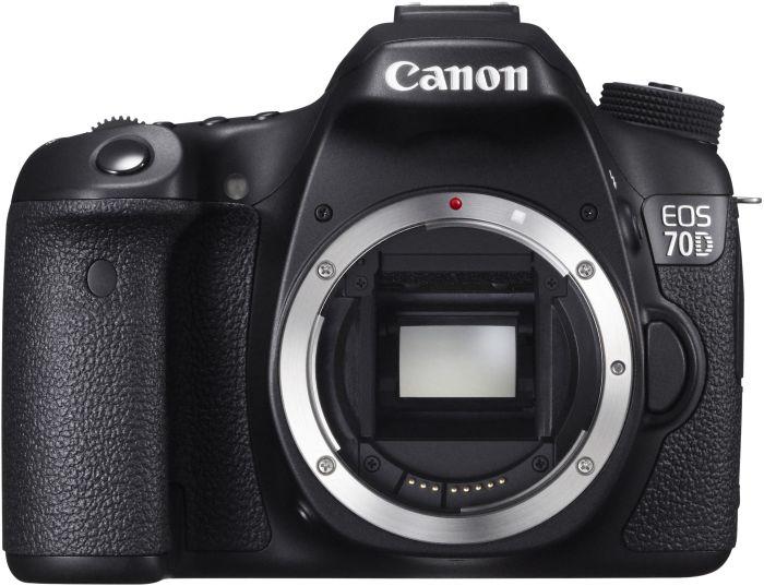 Canon EOS 70D schwarz Gehäuse (8469B025)