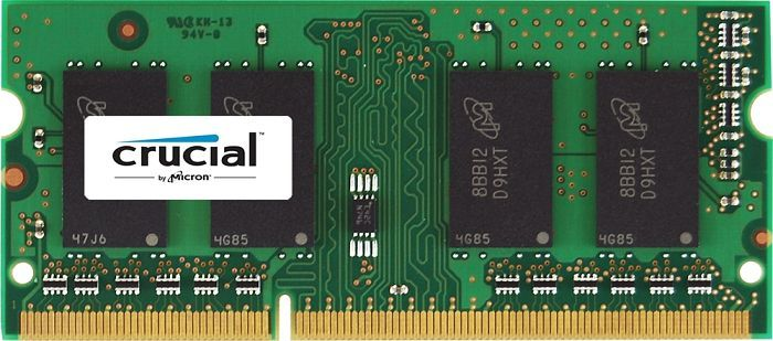 Crucial SO-DIMM 2GB, DDR3-1066, CL7 (CT25664BC1067)