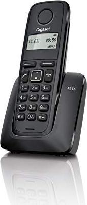 Gigaset A116 czarny (S30852-H2801-B101) -- via Amazon Partnerprogramm