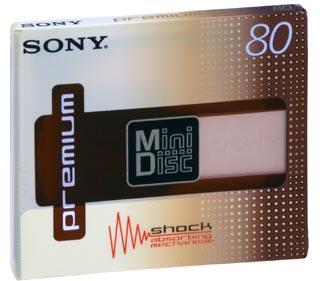 Sony MDW-80 MiniDisc 5-pack