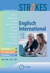 Strokes Language Research: Englisch International 100 - Anfänger (deutsch) (PC)