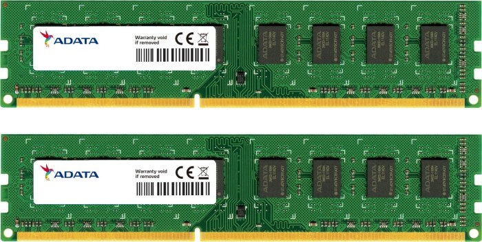 ADATA Value DIMM kit 4GB, DDR3-1333, CL9 (AD3U1333B2G9-2/AD3U1333C2G9-2)