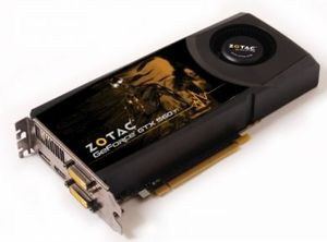 Zotac GeForce GTX 560 Ti, 1GB GDDR5, 2x DVI, HDMI, DisplayPort (ZT-50306-10M)