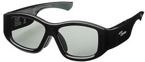 Optoma 3D-RF 3D-glasses (E1AS30000002) -- © Optoma Europe Ltd.