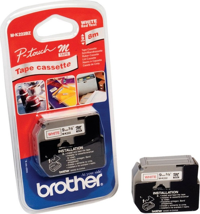 Brother MK-222 9mm red/white -- via Amazon Partnerprogramm