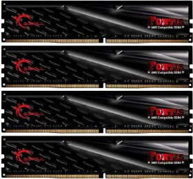 G.Skill Fortis DIMM Kit 64GB, DDR4-2400, CL15-15-15-39 (F4-2400C15Q-64GFT)