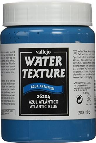 Vallejo Diorama Effects Water Texture atlantic blue (26.204)