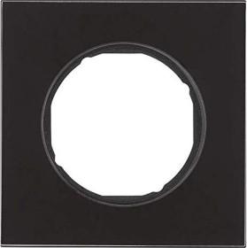 Berker R.8 Rahmen 1fach, schwarz (10112616)