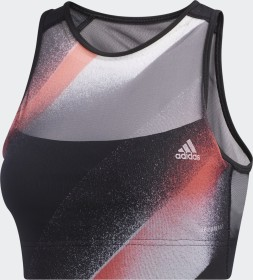 adidas Unleash Confidence Bustier Sport-BH black/white/signal pink/coral (GD4537)