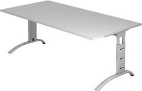 Hammerbacher Ergonomic Plus F-Serie FS2E/5, grau, Schreibtisch