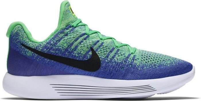 16916a4b2294c Nike Lunarepic Low Flyknit 2 electro green medium blue paramount blue black  (