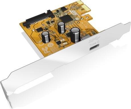 RaidSonic Icy Box IB-U31-01, 1x USB-C 3.1, PCIe 3.0 x1 (70617)