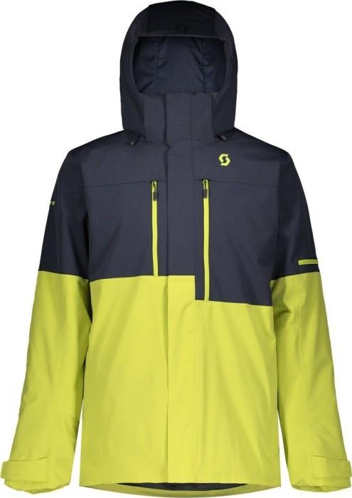 Scott Ultimate Dryo 10 Skijacke blue nightslime yellow