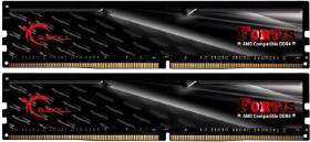 G.Skill Fortis DIMM Kit 16GB, DDR4-2400, CL15-15-15-39 (F4-2400C15D-16GFT)