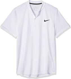 Nike Court Dri-FIT Shirt kurzarm weiß/schwarz (Herren) (AQ7732-100)