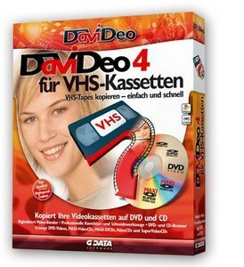 GData Software: DaViDeo 4 für VHS Kassetten (PC) (4041)