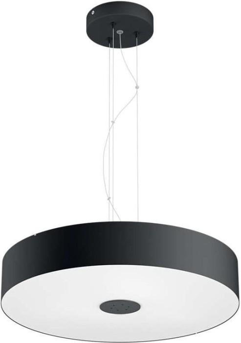 philips hue white ambiance fair pendelleuchte schwarz ab 153 at 2018 preisvergleich. Black Bedroom Furniture Sets. Home Design Ideas