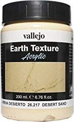 Vallejo Diorama Effects Earth Texture desert sand (26.217)