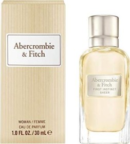 Abercrombie & Fitch First Instinct Sheer Eau de Parfum, 30ml