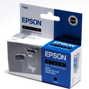 Epson T040 Tinte schwarz (C13T04014010)