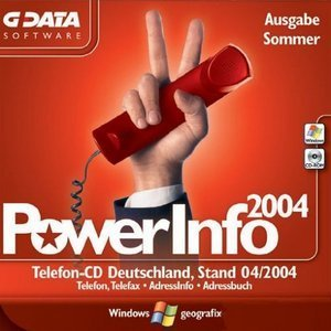 GData Software: PowerInfo 2004 (PC)