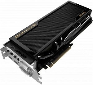 Gainward GeForce GTX 580 phantom, 3GB GDDR5, 2x DVI, HDMI, DisplayPort (1794)