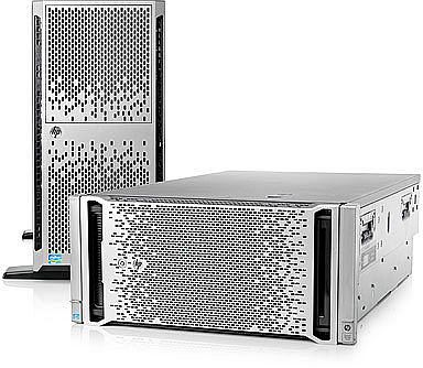 HP ProLiant ML360p G8, 1x Xeon E5-2609, 4GB RAM (646675-421)