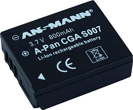 Ansmann A-Pan CGA-S007 Li-Ionen-Akku (5022963) -- via Amazon Partnerprogramm