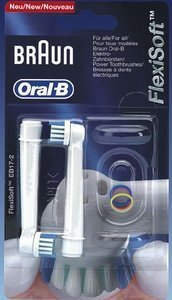 Braun Oral-B brush heads FlexiSoft, 2-pack (EB17-2)