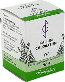 Bombastus Biochemie nach Schüßler Nr. 4 D6 Tabletten, 80 Stück