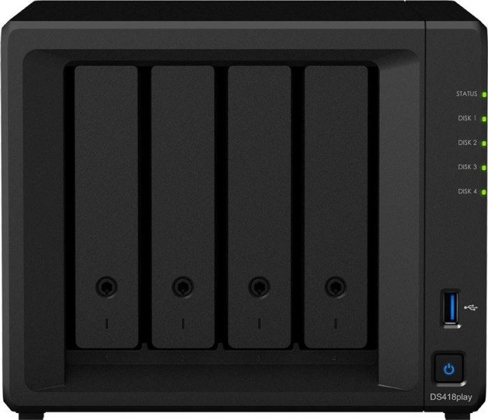 Synology Diskstation DS418play, 2GB RAM, 2x Gb LAN
