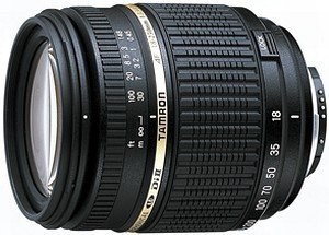 Tamron AF 18-250mm 3.5-6.3 Di II LD Asp IF macro with AF motor for Nikon (A18NII)