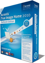 Acronis: True image Home 2010, Netbook Edition (English) (PC)
