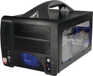 Thermaltake Lanbox black with side panel window (VF1000BWS)