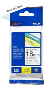 Brother TZe-241 labelling tape 18mm, black/white (TZE241)