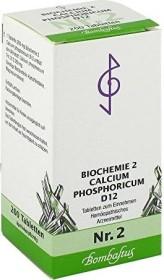 Bombastus Biochemie nach Schüßler Nr. 2 D12 Tabletten, 200 Stück